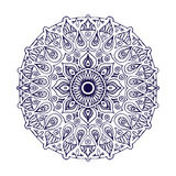 Mandala d'ensemble Ornement rond décoratif Élément de conception d'armure illustration de vecteur