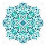 Mandala da flor Elemento abstrato para o projeto Foto de Stock