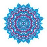 Mandala da garatuja da cor Fotografia de Stock Royalty Free