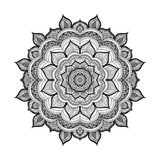 Mandala da garatuja do vetor Imagem de Stock Royalty Free