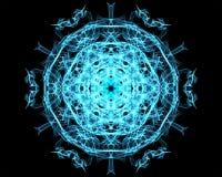 Mandala da iluminação Fotografia de Stock Royalty Free