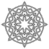 Mandala dans de style celtique Photo libre de droits