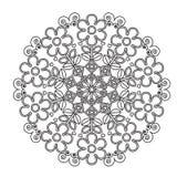 Mandala das crianças para colorir Imagem de Stock Royalty Free