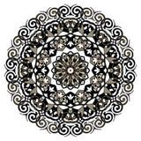 Mandala de dentelle Image libre de droits