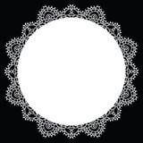Mandala de dentelle de crochet Images libres de droits