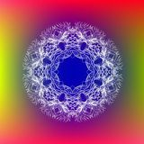 Mandala de encaje Fotografía de archivo libre de regalías