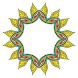 Mandala de fleur Photos libres de droits