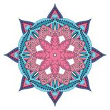 Mandala de fleur Photo stock