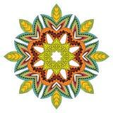 Mandala de fleur Image stock