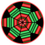 Mandala de Kwanzaa Fotografia de Stock
