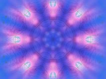 Mandala de l'hiver Images stock