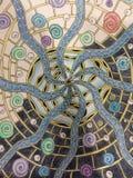 Mandala de la estrella de mar imagen de archivo