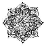 Mandala de la flor Fotos de archivo