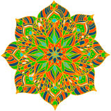 Mandala de la flor Foto de archivo