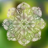 Mandala de la flor Fotografía de archivo libre de regalías