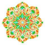 Mandala de la flor Imagen de archivo
