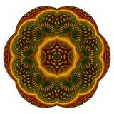 Mandala de la fruta de estrella Imagen de archivo libre de regalías
