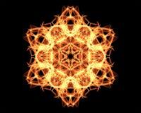 Mandala de la iluminación Foto de archivo libre de regalías