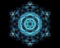 Mandala de la iluminación Imagen de archivo libre de regalías