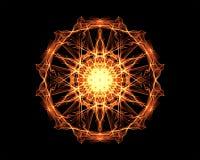 Mandala de la iluminación Fotografía de archivo