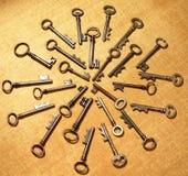 Mandala de la llave maestra Imagen de archivo libre de regalías