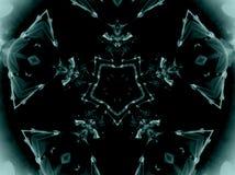 Mandala de la radiografía Foto de archivo
