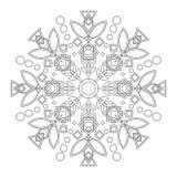 Mandala de los niños con el lirio Fotografía de archivo