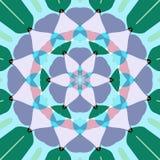 mandala de lotus de fleur Photos libres de droits