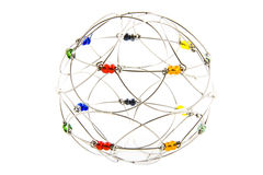Mandala de plata imágenes de archivo libres de regalías