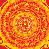 Mandala de Sun Fotos de Stock Royalty Free