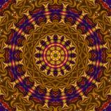 Mandala de Turkestan illustration stock