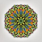 Mandala de vecteur Éléments décoratifs ethniques Backgroun tiré par la main Photographie stock