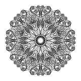 Mandala de vecteur Éléments décoratifs ethniques Tiré par la main illustration de vecteur