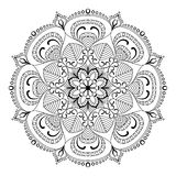 Mandala de vecteur Image libre de droits