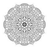 Mandala de vecteur illustration libre de droits