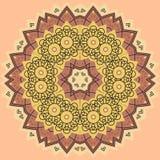 Mandala de vecteur dans le style de vintage Photos stock
