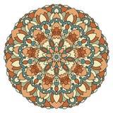 Mandala de vecteur de couleur Photo stock