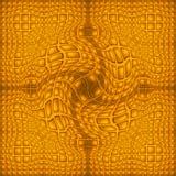 Mandala in de voorsteden royalty-vrije illustratie