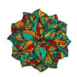 Mandala de Zentangle Fotos de archivo libres de regalías