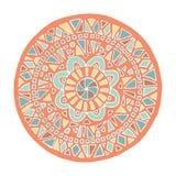 Mandala de Zentangle Foto de Stock