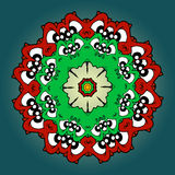 Mandala decorativa Foto de Stock