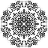 Mandala decorativa do vetor ilustração do vetor