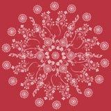 Mandala decorativa floreale del modello dell'ornamento Fotografie Stock Libere da Diritti