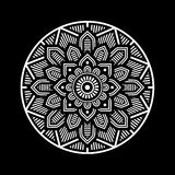 Mandala Decorative Circle Illustration Imagen de archivo