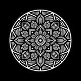 Mandala Decorative Circle Illustration. Stock Image