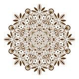 Mandala decorative ethnic circular ornament Stock Photography