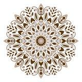 Mandala decorative ethnic circular ornament Royalty Free Stock Photos