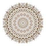 Mandala decorative ethnic circular ornament Royalty Free Stock Images