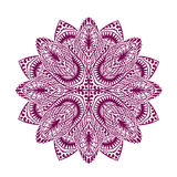 Mandala. Decorative ethnic floral ornament. Vector illustration Stock Image