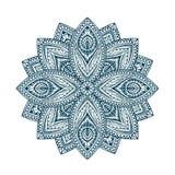 Mandala. Decorative floral ethnic pattern. Beautiful flower shape oriental line vector Stock Photography